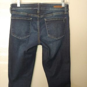 Articles of Society Carly Skinny Crop Jeans 26 Raw